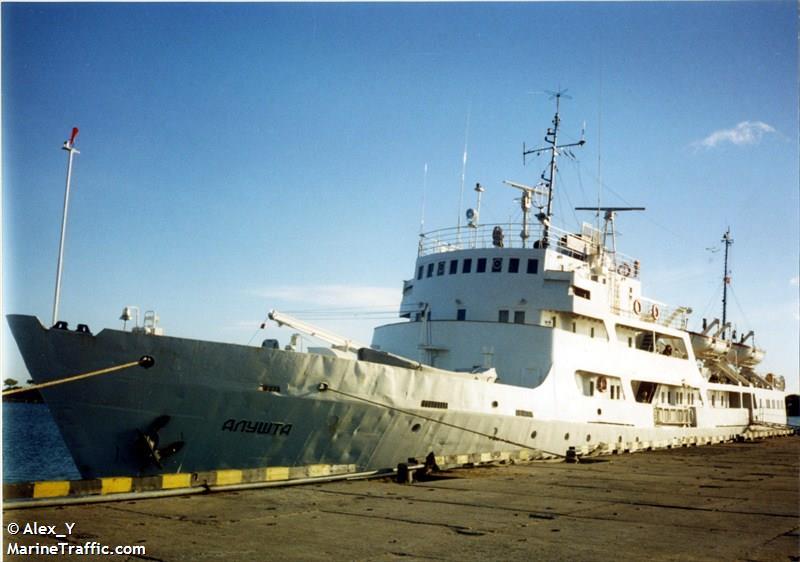 RJS mācību kuģis Alušta