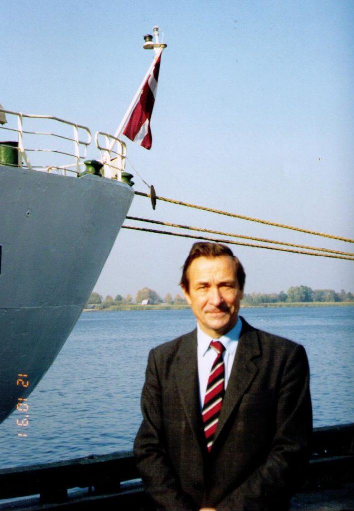 Imants Vikmanis motorkuģis Kuldīga