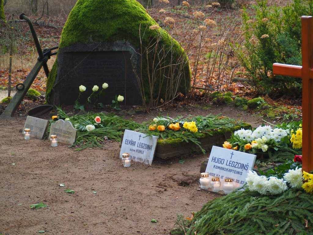 Hugo Legzdiņa dzimtas kapi