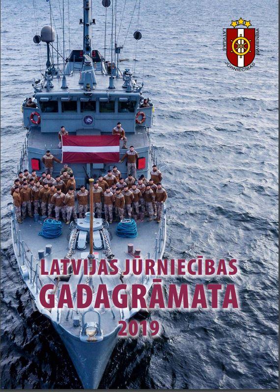 Jūrniecības gadagrāmatas - 2019 vāka foto