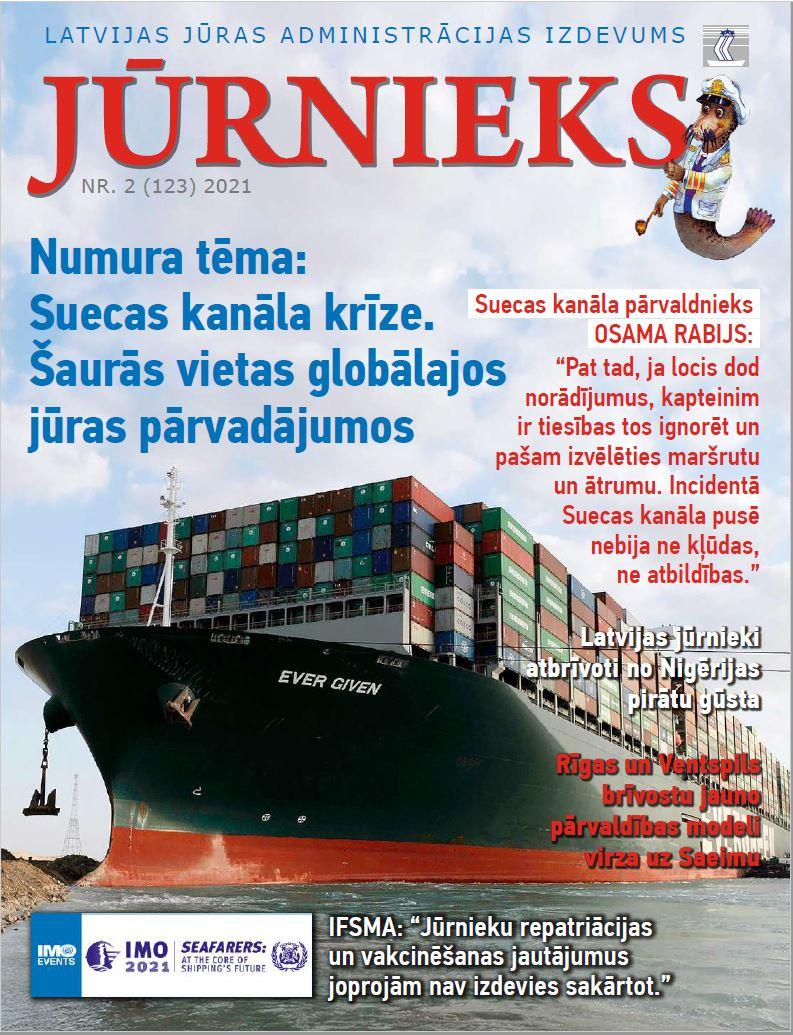 Žrunāls jūrnieks 2021 -2