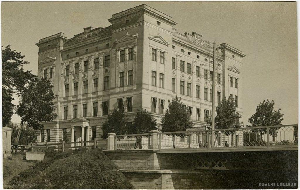 Rīgas Jūrskolas ēka - Kronvalda bulvārī 6